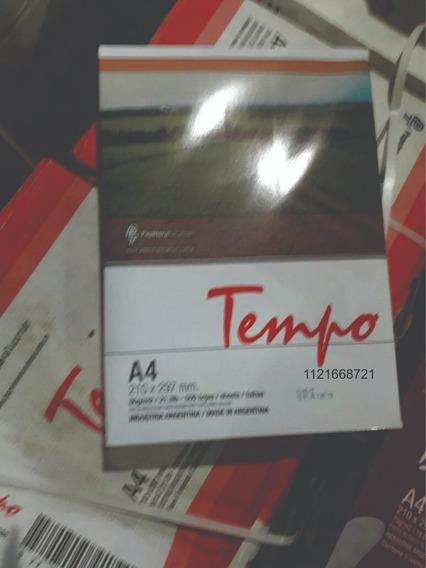Resmas Tempo A4 80 Gr. (5 Unidades) X Mayor
