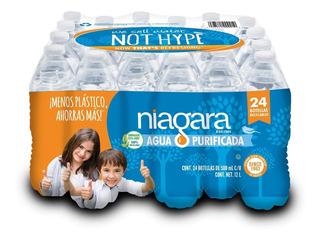 Agua Purificada Niagara 500 Ml. 24 Unid.