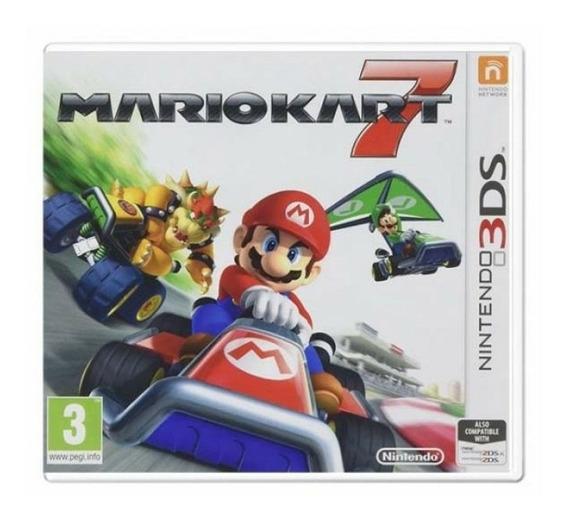 Mario Kart 7 - Nintendo 3ds - Mídia Física - Promoção