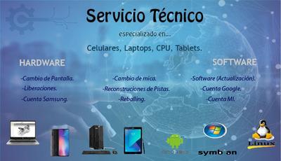Servicio Tecnico De Celulares (todas Las Marcas)