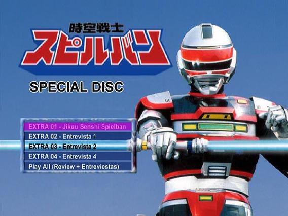 Dvd Spielvan (jaspion 2)***dublado Serie Completa Digital***