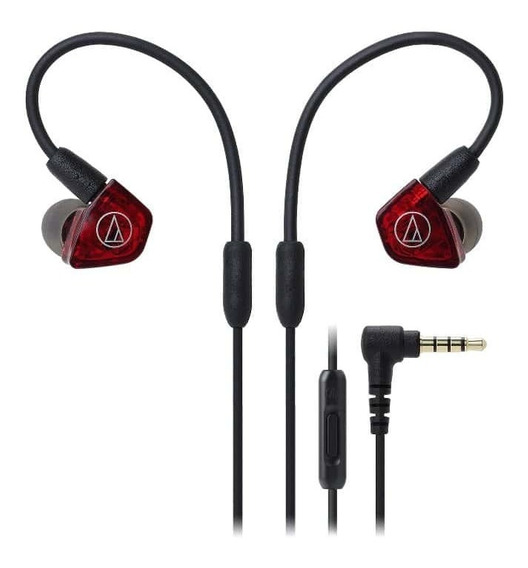 Fone De Ouvido C/ Mic Audio-technica In-ear - Ath-ls200is