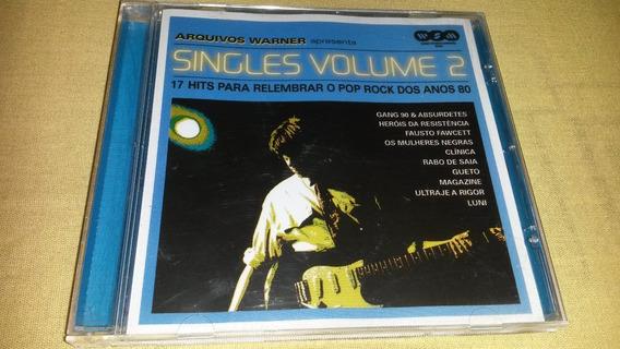 Cd Coletânea Arquivos Warner - Singles Volume 2 - Original.