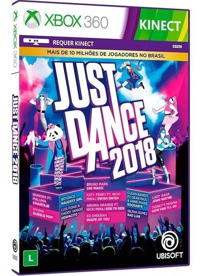 Just Dance 2018 - Midia Fisica Lacrado Original - Xbox 360