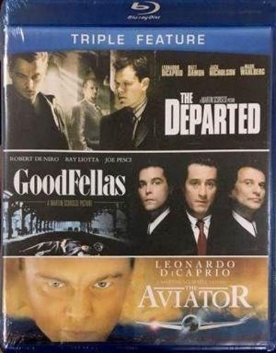 Dvd Filme - Martin Scorsese - Triple Feature: The Departe...