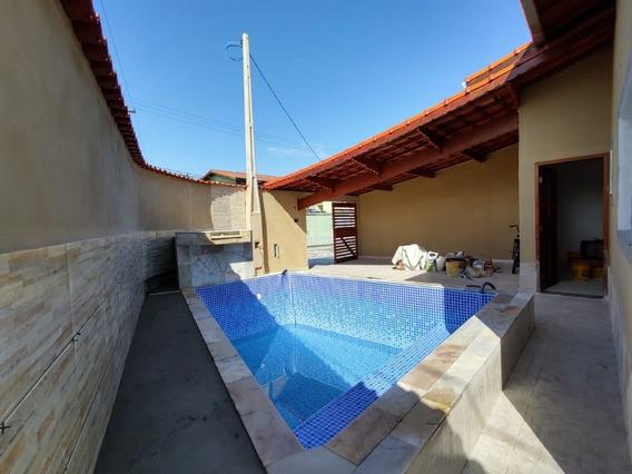 Casa Linda Lado Praia Com Piscina R$ 280 Mil Ref: 7482 C