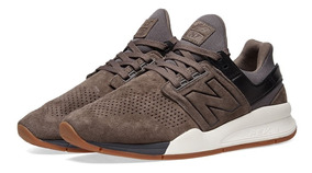Tênis New Balance 247 Luxe Leather Pack Dark Grey Ms247lg