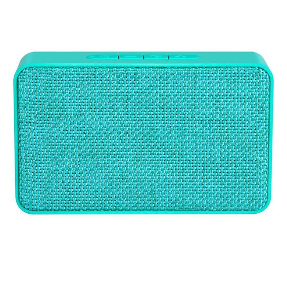 Caixa De Som Xtrax X500 Bluetooth Micro Sd Auxiliar Azul