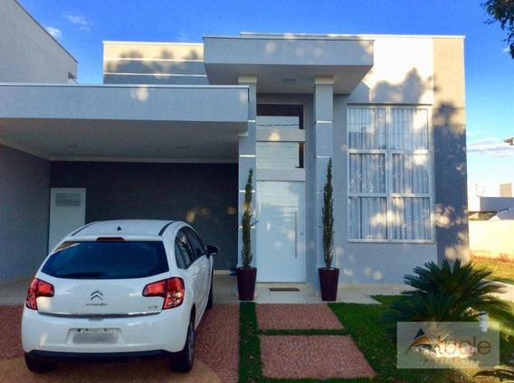 Casa Com 3 Dormitórios À Venda, 170 M² - Reserva Real - Paulínia/sp - Ca6372