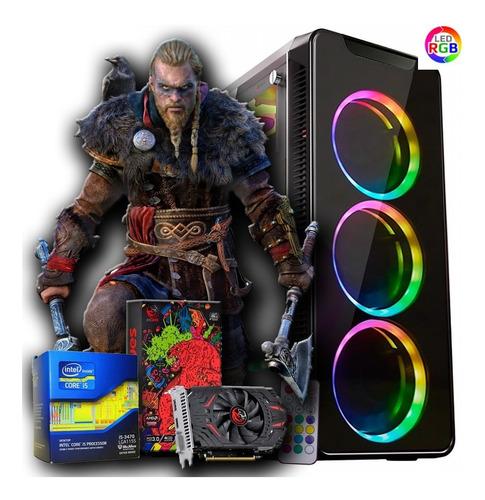 Imagem 1 de 3 de Pc Gamer Streamer 2021 I5 16gb Ssd Full Hd + Nfe + Garantia