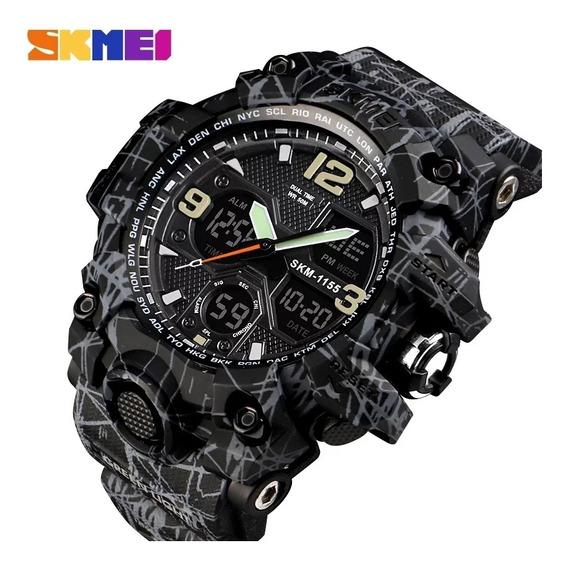 Relógio Masculino Skmei 1155 Original Esportivo Militar