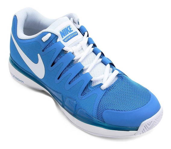 Tênis Nike Zoom Vapor 9.5 Tour - Roger Federer - Azul Claro
