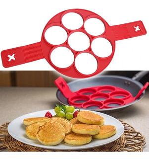 Flippin Fantastic Molde De Silicón Para Hotcakes O Huevos