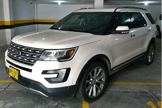 Ford Explorer Límited 4x4 At 7p