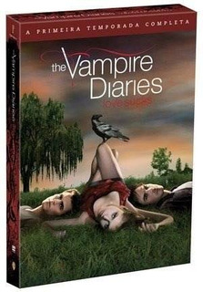 Box Dvd The Vampire Diaries 1 Temporada Completa (5 Dvd