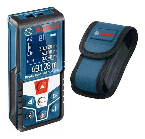 Medidor De Distância À Laser Glm 50 C Bosch Com Bluetooth