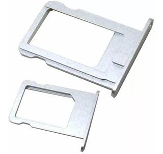 Bandeja Suporte Gaveta Nano Sim Chip iPhone 5s Prata