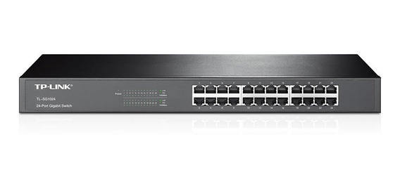 Tp-link Switch 24 Puertos Gigabit Tl-sg1024 Rackeable Cuotas