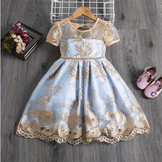 Vestido Niña Cinderella Fiesta Primavera Princesas