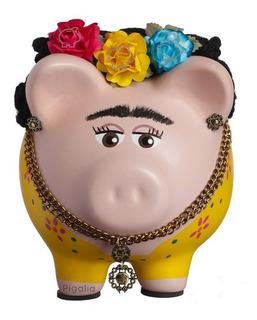 Alcancía Love Frida Kahlo Cerditos Regalo Elite Puerquito