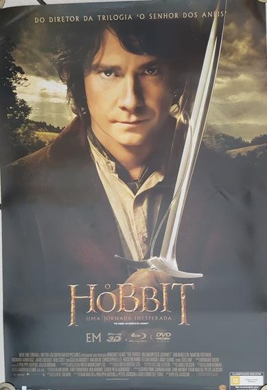 Pôster O Hobbit Uma Jornada Inesperada Dupla Face 93x63 Cm