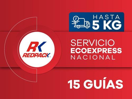 Imagen 1 de 1 de 15 Guías Prepagadas  Ecoexpress Hasta 5 Kg