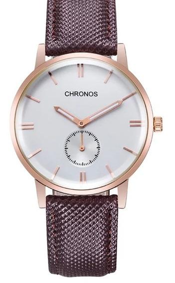 Relógio Chronos Qualidade100%
