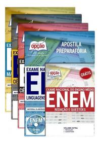 Kit Apostila Exame Nacional - Enem - Apostila Enem - 4 Vol