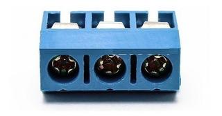 Borne Conector Kre 3 Vias Kf301 Embalagem Com 10 Peças