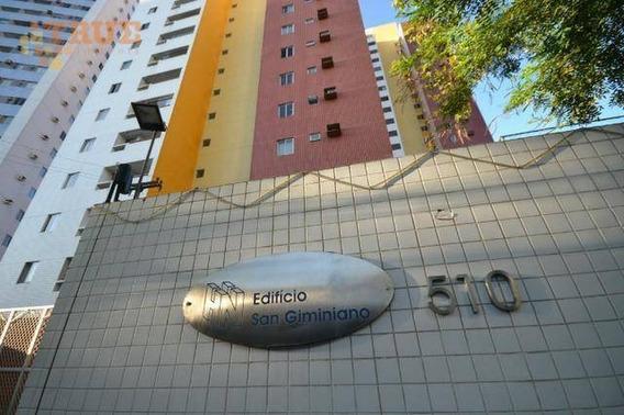Apartamento Com 2 Dormitórios À Venda, 73 M² Por R$ 300.000 - Torre - Recife/pe - Ap3671