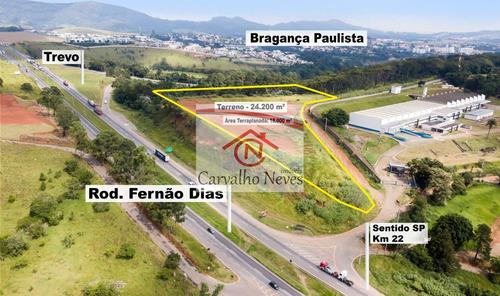 Terreno Fernão Dias - Bragança Paulista, Sp - 3463