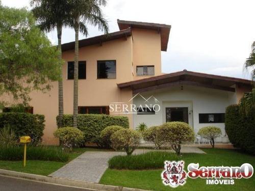 Imagem 1 de 19 de Casa Com 4 Dormitórios À Venda, 500 M² Por R$ 2.700.000,00 - Condomínio Estância Marambaia - Vinhedo/sp - Ca0016