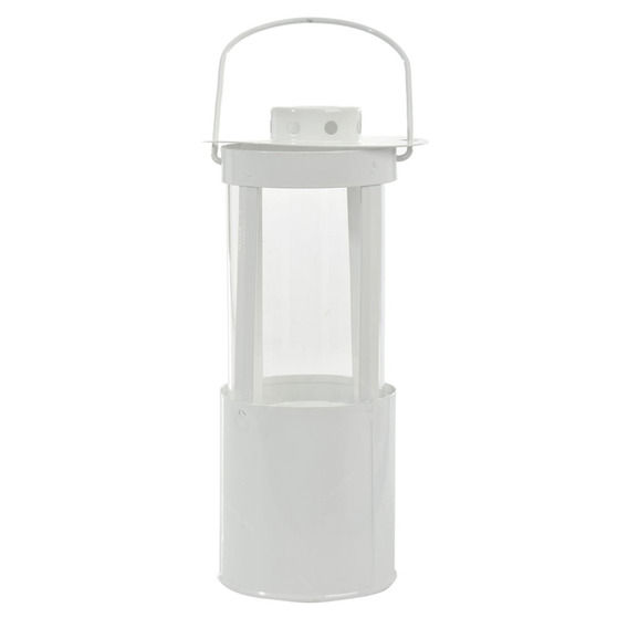 Lanterna Zinc Branca