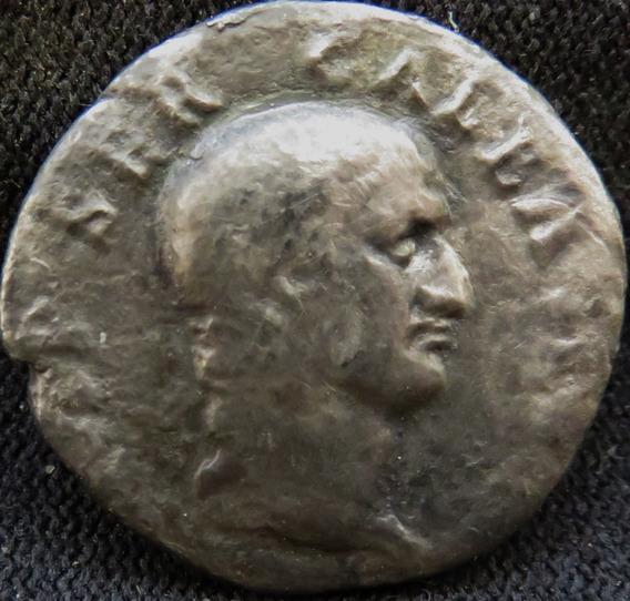 Moeda Antiga Denário De Prata De Galba Império Romano Raro