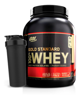 Gold Standard 2,2kg + Multishaker - Optimum Nutrition