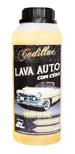 Shampoo Automotivo Com Cera High Shine Cadillac Brilho 2l