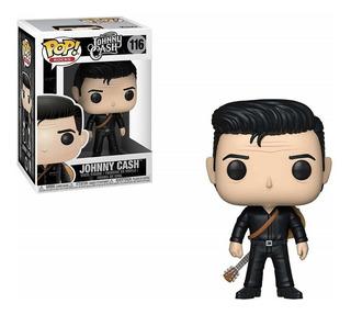 Funko Pop Johnny Cash 116 Rocks Nuevo Original Coleccionable