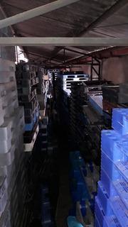 Palete Pallet Pallets Plástico Variados Empilhavel E Travado