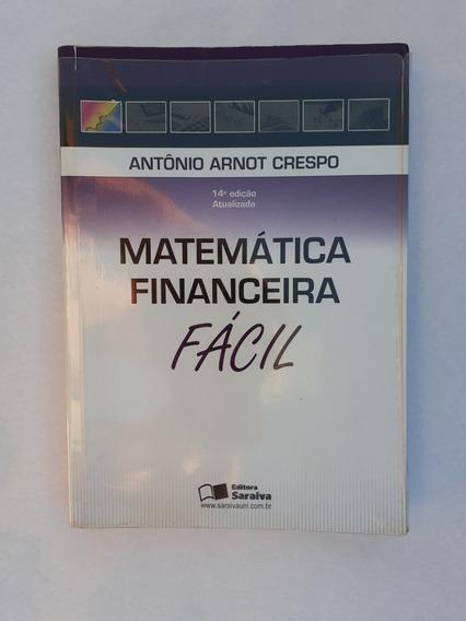Livro: Matemática Financeira Fácil: Crespo