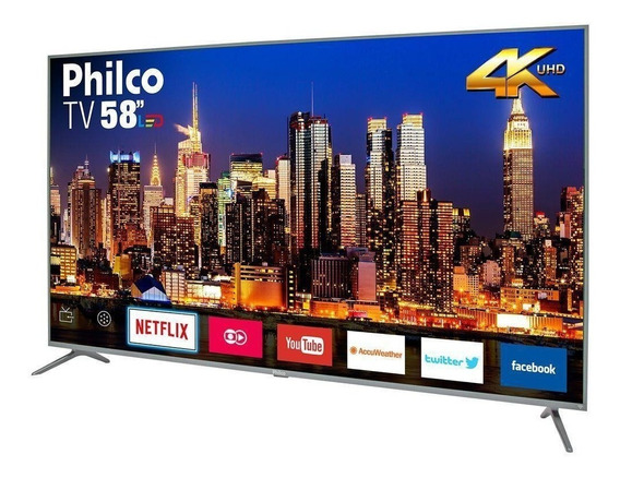 Smart Tv Philco 58 Led Uhd 4k Ptv58f60sn