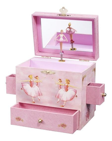 Joyero Musical Rosa Con Bailarina Disponible Blakhelmet Nex