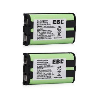 2pcs 1000mah Batería Para Panasonic Hhr-p104 Hhrp104 Teléfon