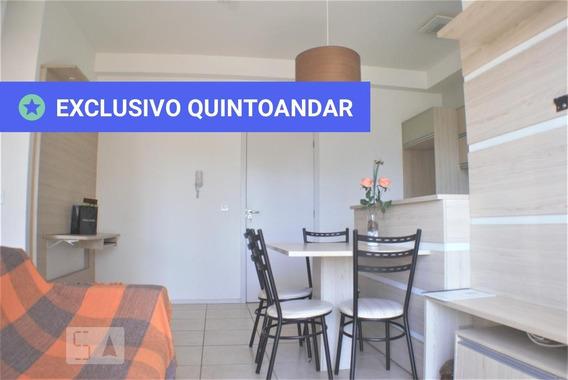 Apartamento No 2º Andar Mobiliado Com 2 Dormitórios E 1 Garagem - Id: 892974129 - 274129
