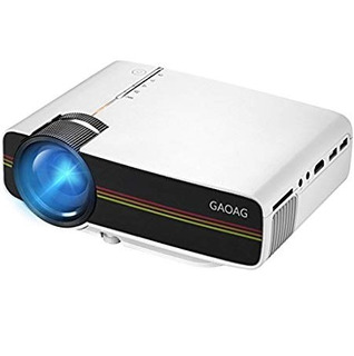 Proyector Gaoag Projector Portable Mini Video + 20% Lumens M