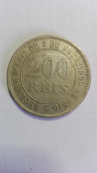 Moneda Antigua Imperio Do Brazil 1874