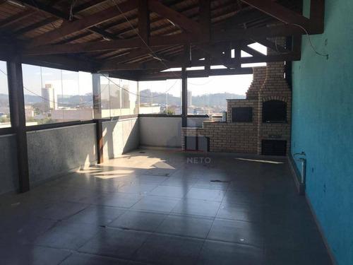 Cobertura Com 2 Dormitórios À Venda, 136 M² Por R$ 415.000 - Vila Nossa Senhora Das Vitórias - Mauá/sp - Co0038