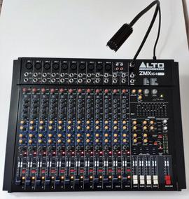 Mesa De Som Mixer Profissional Alto Zmx164 Fx Usb 16 Canais