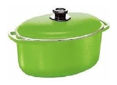 Cacerola Ovalada Verde - Cucina Donna