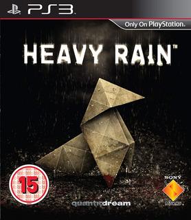 Heavy Rain Ps3 (en Cd)