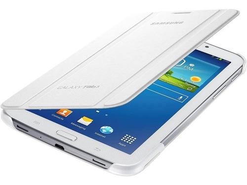 Imagem 1 de 3 de  Capa Original Book Cover Samsung Galaxy Tab 3 7  Branco